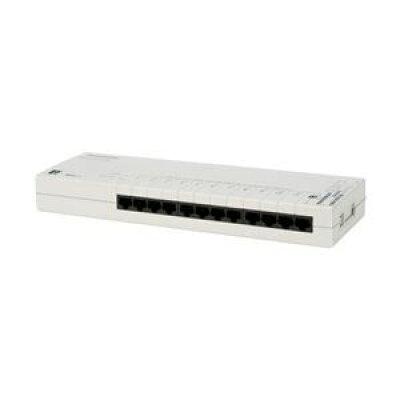 Panasonic LSネットワークス タップ型 12ポート L2スイッチングハブ PN24120K