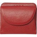 オフィススリーワークス 良品工房 日本製手作り牛革二つ折財布 エンジ