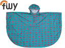 filly/フィリー Pattern Poncho Kids パターンポンチョ キッズ ROKU