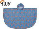 filly/フィリー Pattern Poncho Kids パターンポンチョ キッズ HACHI