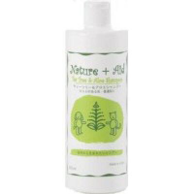 Nature-Aid ティーツリー&アロエシャンプー 475ml