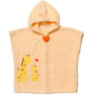 妖精の森 バスポンチョ オレンジ (キリン)(1枚入)