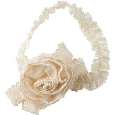アモローサマンマ天使の糸 オーガニックエンジェルローズのヘアバンド 30-35サイズ(1コ入)