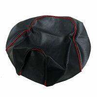 ALBA アルバ 国産カスタムシートカバー 張替タイプ HCH1005-C10P40 黒カバー・赤パイピング