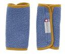 田中産業 plain fabric ベビーロゼット サッキングパッド   ブルー