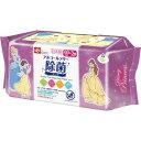 ディズニー プリンセス ノンアルコール 除菌シート 日本製 パラベンフリー(60枚入*3コパック)