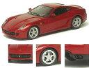 1/43 ハンドメイド モデルカー フェラーリ 599GTB フィオラノ HGTE ジュネーブショー2009 メタリックレッド メイクアップ
