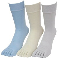 パックスエイジアン 銀マジック抗菌消臭靴下 ライトカラー3色アソート(3足組入)
