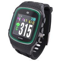 MASA GPSゴルフナビゲーション ザ・ゴルフウォッチ ノルム ブラック G015B