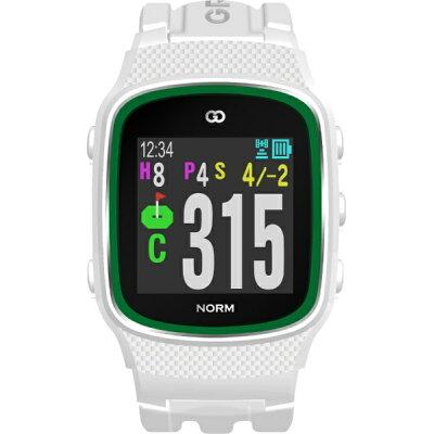 MASA GPSゴルフナビゲーション ザ・ゴルフウォッチ ノルム ホワイト G015W