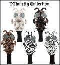 Minority Collectionマイノリティコレクション B/Mキャラクター DR用ヘッドカバー 55405-15 ゼブラ