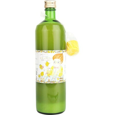 有機レモン果汁 100%ストレート(900ml)