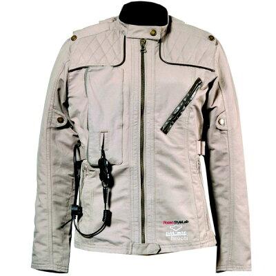 3シーズンジャケット Rosso StyleLab ロッソ スタイルラボ ROSSO×hit-air コラボプロテクトジャケット サイズ:LL