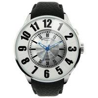 ROMAGO/ロマゴ/腕時計/NUMERATION SERIES/ヌメレーションシリーズ/RM007-0053ST-SV/ブラック×シルバー/RM007-0053STSV