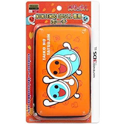 太鼓の達人 NINTENDO 3DSLL専用 ポーチ オレンジ プレックス