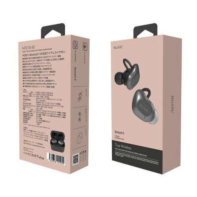 NUARL 完全ワイヤレスイヤホン NT01B-BS