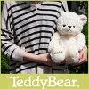 TeddyBear / テディベア ぬいぐるみ L ホワイト .