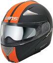 WINS CR-1 シルテムヘルメット MODIFY マットブラック&オレンジ M