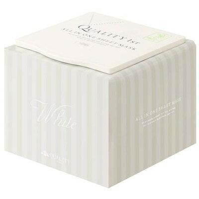 クオリティファースト オールインワンシートマスク ホワイトEX BOX(30枚入)