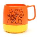 DINEX マグカップ 8oz みなしごハッチ オレンジ×イエロー