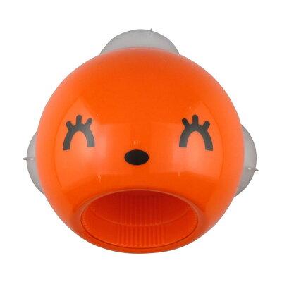 サカエ工業 スマイルオープナー 室内用吸盤タイプ オレンジ