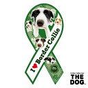 リボンマグネット L THE DOG ザ ドッグ ボーダーコリー