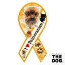 IDEL MEDIA JAPAN リボンマグネット L THE DOG ザ ドッグ ポメラニアン