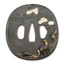 古の金工師の技を今蘇らせる侍の魂の技と美 桜馬図鍔 RUM-T022 (0834911)