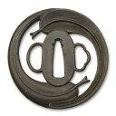 古の金工師の技を今蘇らせる侍の魂の技と美 笹巴図鍔 RUM-T037 (0834916)