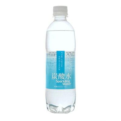 大分久住山系 炭酸水 天然水100%(500ml*24本入)