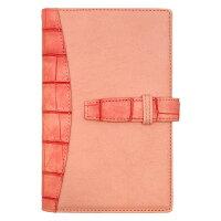 フランクリンプランナー フレンチクロコバインダー ポケット ピンク メーカー品番 63075