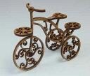 木製組立キット 1/12 木製三輪車のオブジェ コバアニ模型工房
