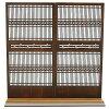 木製組立キット 和の造作 1/12 和柄つき格子戸1 コバアニ模型工房