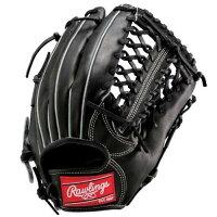 Rawlings ベースボール 硬式グローブ ゲーマー 外野用 12 ブラック GH5G8L-B