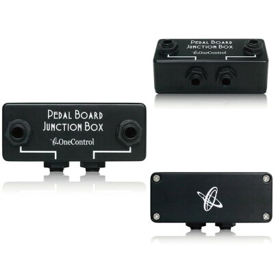 One Control Minimal Series Pedal Board Junction Box