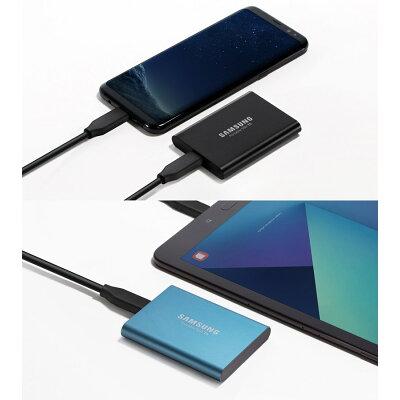 SAMSUNG ポータブルSSD T5シリーズ 500GB MU-PA500B/IT