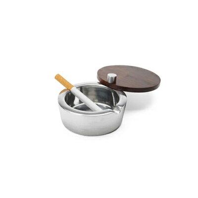 灰皿 フタ付 アルミ slide ashtray WOOD灰皿/アシュトレイ/アッシュトレイ