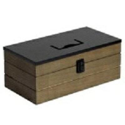 イノセント 救急箱 ウッドツールボックス ブラウン ISL003-BR