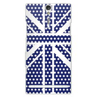 Cross union jack ネイビー(クリア) design by ROTM / for XperiaTM NX SO-02D/docomo