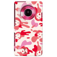 unnonカモフラ (pink) designed by 野口路加 / for LUMIX Phone 101P/SoftBank