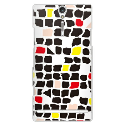 Mick ブラック (クリア) / for XperiaTM NX SO-02D/docomo SECOND SKIN