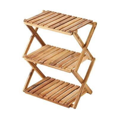 木製3段ラック460 UP2584CSC