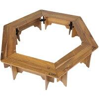 ヘキサグリルテーブルセット UP1038CSC