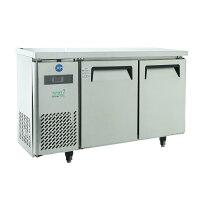 ジェーシーエムJCM 省エネIシリーズ ヨコ型2ドア冷蔵庫 JCMR-1245T 150リットル 幅1200×奥行450×高さ800mm