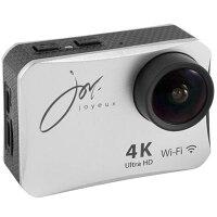 ジョワイユ 4K WiFiアクションカメラ デジタルカメラ シルバー SVC300SV