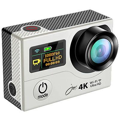 ジョワイユ アクションカメラPRO 4K-WiFi 1080P シルバー SVC500SV