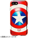 ROOX iPhone 7用 MARVEL Design メタリック ハイブリットケース キャプテンアメリカ S2BHBDIP7-CA