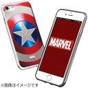 ROOX iPhone 8 MARVEL Design ソフトTPU キャプテンアメリカ シールド S2BMSTI7SCS