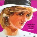 ダイアナ妃 プリンセス オブ ウェールズ 海外グラフィックアートパネル 木製 ポスター インテリアに