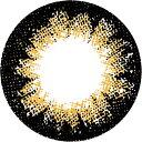 度なし パラカラネオ マンスリー テディブラウン 2枚 レンズ直径14.5mm
